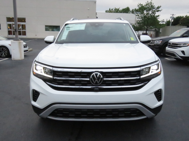 New 2021 Volkswagen Atlas 3.6L V6 SEL Premium With Navigation & AWD