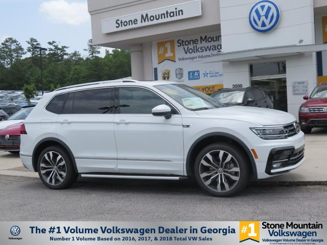 New 2019 Volkswagen Tiguan SEL Premium R-Line with 4MOTION®