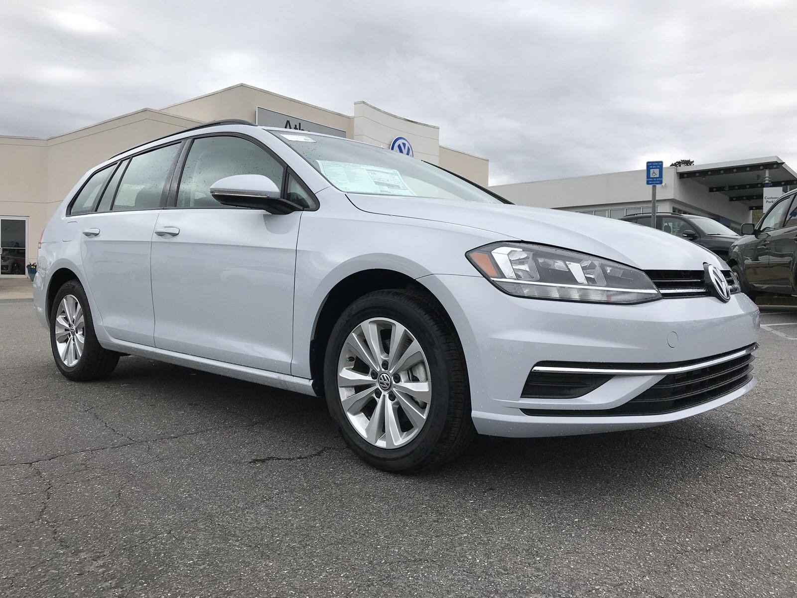 New 2018 Volkswagen Golf SportWagen S Station Wagon in Snellville