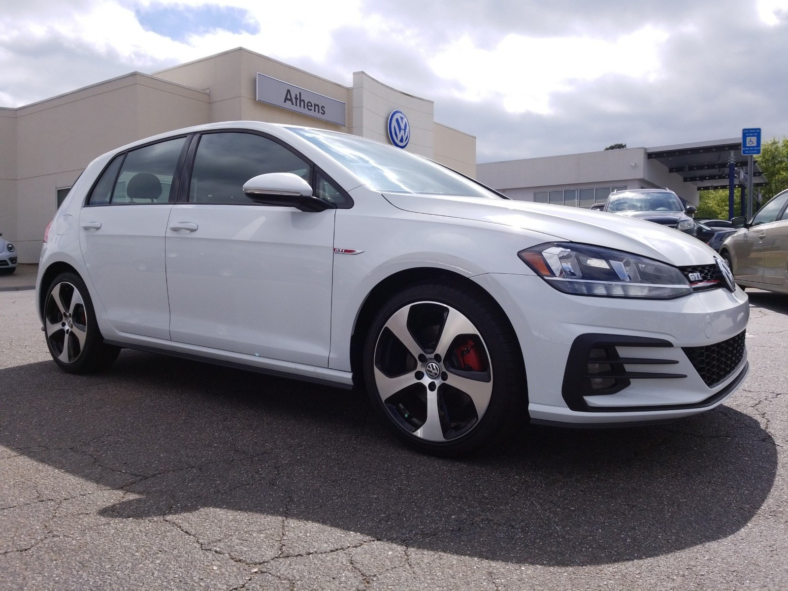 New 2018 Volkswagen Golf GTI S Hatchback in Snellville M