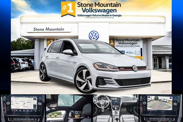 Certified Pre-Owned 2019 Volkswagen Golf GTI Autobahn
