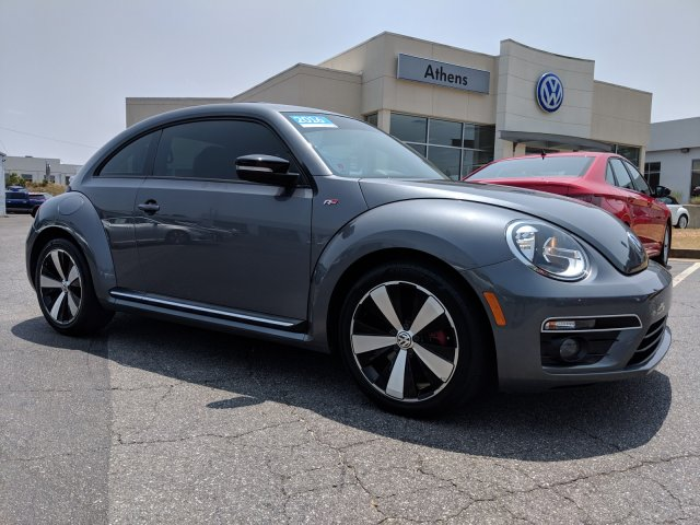 Certified Pre-Owned 2016 Volkswagen Beetle Coupe 2.0T R-Line SE