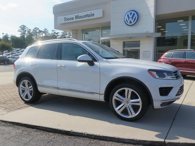 new 2017 volkswagen touareg v6 executive 4d sport utility in snellville d006230 stone. Black Bedroom Furniture Sets. Home Design Ideas