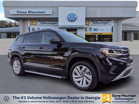 New 2021 Volkswagen Atlas 3.6L V6 SEL With Navigation