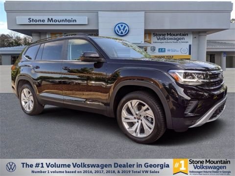 New 2021 Volkswagen Atlas 3.6L VR6 3.6L V6 SE w/Technology w/Technology and 4Motion AWD