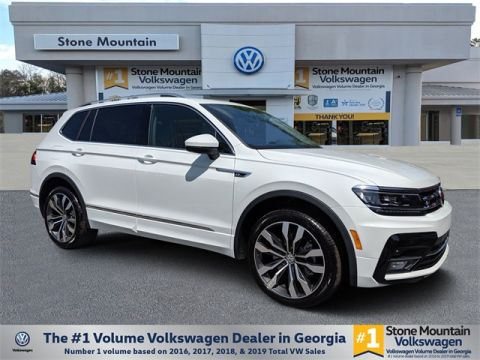 New 2020 Volkswagen Tiguan 2.0L TSI DOHC 2.0T SEL Premium R-Line 4Motion With Navigation & AWD