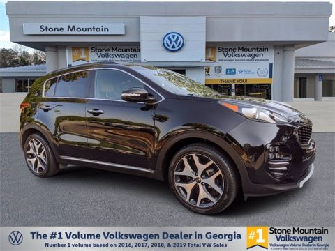 Pre-Owned 2018 Kia Sportage SX With Navigation