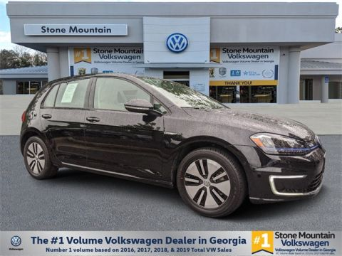 Certified Pre-Owned 2016 Volkswagen e-Golf SEL Premium With Navigation